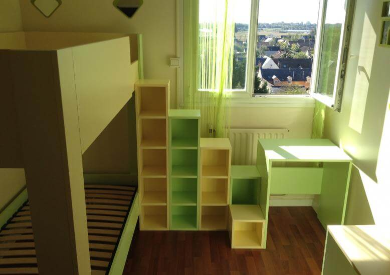 Amenagement chambre enfant maison design for Amenagement chambre enfant